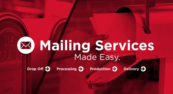 Mailing Services at DigiCOPY - tab, letter inserts, postcards and envelopes