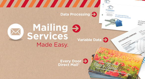 DigiCOPY Mailing Services - Every Door Direct Mail, Variable Data, Data Processing